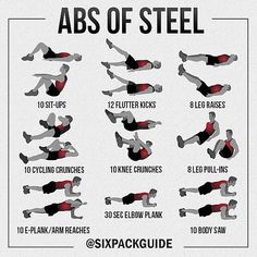 """Here's an ab routine for you to crush this week!"