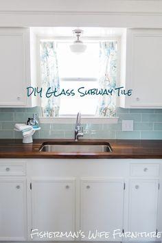 DIY Glass Subway Tile Tips