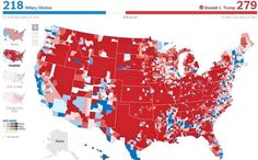 Why pundits are STUNNED with this map – If you're shocked by how red the state view is, look even closer