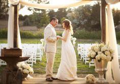 Whimsical California Farm Wedding / Event Planning & Flowers by yvonnedesign.com, Photography by aeweddingsinc.com