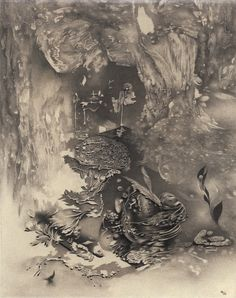 The squirming facts exceed the squamous mind - Works by Richard Oelze (Title: Wallace Stevens) Max Ernst, Surrealism Painting, Surreal Art, Installation Art, Art Blog, Contemporary Artists, Eye Candy, Illustration Art, Exceed