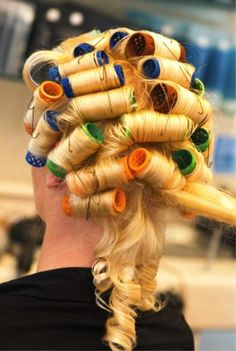 Rollers1   C-cups   Flickr Roller Set, Curlers, Old And New, Hair Beauty, Long Hair Styles, Perms, Beautiful, Cups, Photos