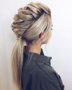 Top 60 All the Rage Looks with Long Box Braids - Hairstyles Trends Box Braids Hairstyles, Pretty Hairstyles, Hairstyle Ideas, Step Hairstyle, Hairstyle Tutorials, Hairstyle Pictures, Party Hairstyle, Fashion Hairstyles, Bridal Hairstyle