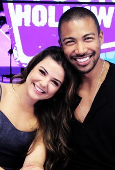 Danielle Campbell and Charles Michael Davis visits the Young Hollywood Studio on April 2015 in Los Angeles, California. Charles Michael Davis, Danielle Campbell, Davina Claire, Vampire Diaries The Originals, The Cw, Always And Forever, The Villain, Celebs, Celebrities