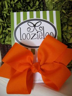 Large Hair Bow by loozieloo on Etsy, $7.00