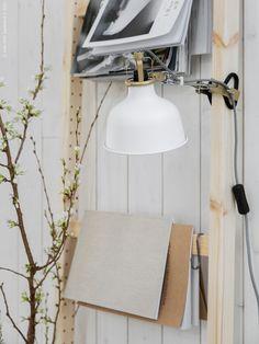 RANARP | IKEA Livet Hemma – inspirerande inredning för hemmet Large Furniture, Contemporary Furniture, Ivar Ikea Hack, Ikea Interior, Inside A House, Ikea Office, Ikea Storage, Piece A Vivre, Houses