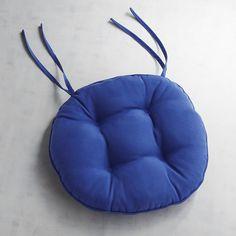 Round Bistro Dining Cushion In Cabana