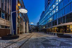 "47 tykkäystä, 3 kommenttia - Tehomet - A Valmont Company (@tehomet) Instagramissa: ""Project: Mediacity, Bergen, Norway Realization: 2017 Tehomet solution: Bespoke steel poles with…"""