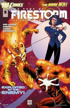 The Fury of Firestorm: The Nuclear Men (2011-) #5 Ronnie and Jason have never agreed on anything, and now it's all-out war as the mysterious Zither pits them against each other! But with the mystery of the Rogue Firestorms spiraling out of control, the guys will have to come to an agreement--or risk serious fallout!