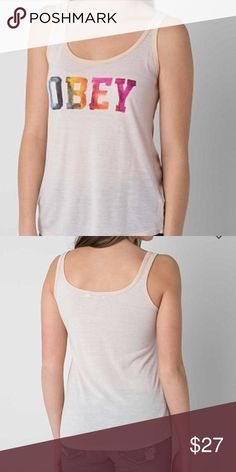 🔷 Obey tank from Buckle, size Medium Obey tank from Buckle, size Medium, perfect condition! Buckle Tops