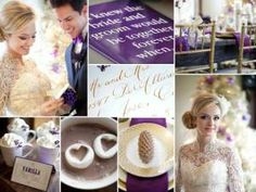 Purple Wedding Palette - from Colour Meanings post