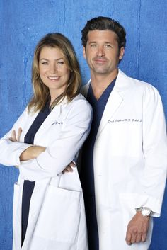 ": Ellen Pompeo Disses Former 'Grey's Anatomy' Costar Patrick Dempsey — ""It's Amazing How Much You Get Done Without a Penis"" Greys Anatomy Derek, Greys Anatomy Couples, Greys Anatomy Season, Grey Anatomy Quotes, Merideth And Derek, Meredith Et Derek, Patrick Dempsey, Greys Anatomy Halloween Costumes, Greys Anatomy Costumes"