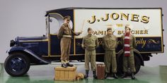 1935 Ford BB Box Van, once the star of 1970s television comedy Dad's Army, sold for £63,100 at Bonhams