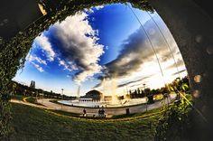 Hala Stulecia, Wroclaw, Poland.  http://wroclaw.awesomepoland.com/ #wroclaw #poland