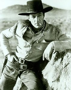 Cowboys and Westerns - Gary Cooper <he's my great great uncle on my mom's side ;) lover him