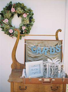 Card drawer: http://www.stylemepretty.com/2015/09/15/outdoor-nashville-mansion-wedding/   Photography: Kristin Sweeting - http://www.kristinsweeting.com/