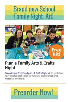 Our new School Family Night kit will help your group put together and awesome event for your school! Preorder from PTO Today now!