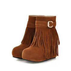 Comfortable boots decorate metal tassels women shoes Z-HR-C1