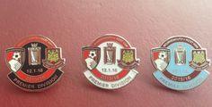 Afc Bournemouth Against West Ham Match Badge Set