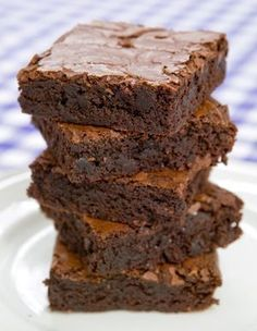 Brownies to Die For - Our Dairy Free Life Sweet Recipes, Cake Recipes, Dessert Recipes, Dairy Free Brownies, Brownie Frosting, American Cake, Italian Desserts, Sweet Cakes, I Love Food