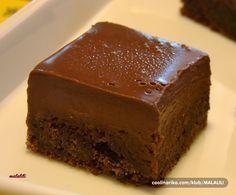 The Most Amazing Fudgy Chocolate Cake Cookie Desserts, Sweet Desserts, Sweet Recipes, Cookie Recipes, Dessert Recipes, Jednostavne Torte, Brze Torte, Posne Torte, Torte Recepti