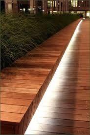 Image result for lights for bench garden outside