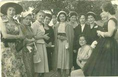 Kraliçe Süreyya , Zonguldaklı kadınlarla... 1956