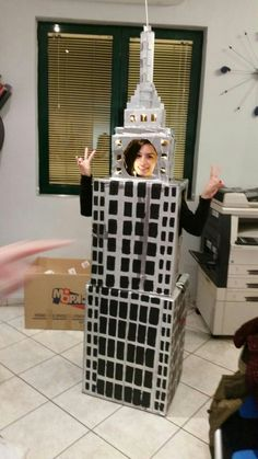 Empire state building costume diy