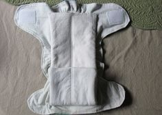cloth diaper insert tutorial...and a link to the fitted diaper.