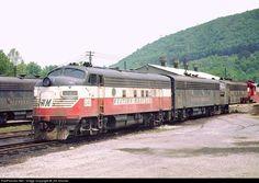 RailPictures.Net Photo: WM 241 Western Maryland Railway EMD F7(A) at Ridgeley, West Virginia by Jim Sinclair