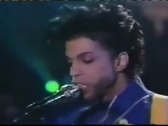 Prince - Purple Rain Live Arsenio Hall Performance! We Miss You :(