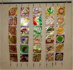Mexican Metal Tooling Lesson Plan: Multicultural Art and Craft Lessons for Kids: KinderArt