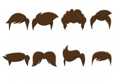 sample cartoon children hair styles - Google Search