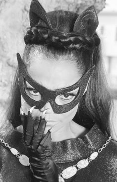 Eartha Kitt Catwoman Batgirl | Kitty