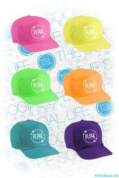 Snapbacks on snapbacks. One of the most popular back-to-school accessories! My #TSL Dream Recruitment Closet