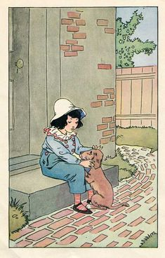 1920's Johnny Gruelle illustration, via kelleystreetvintage