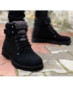 Gizli Topuk Bot Siyah All Black Sneakers, Hiking Boots, Shoes, Fashion, Moda, Zapatos, Shoes Outlet, Fashion Styles, Shoe