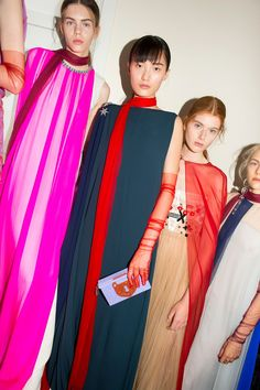 Our Best Backstage Photos From the Fall '17 Couture Shows in Paris
