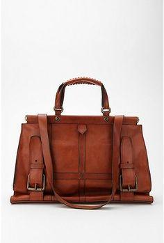 Leather satchel. #Bag #Purse #Leather #Satchel