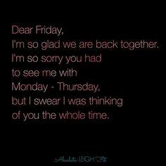 Happy Friday everyone  #tgif