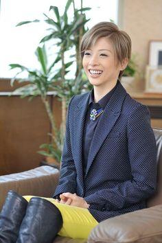 明日海りお 撮影:奥村達也 New Image, Interview, Women, Woman