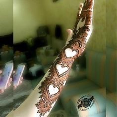 Heart Henna/Mehndi Designs for Hands