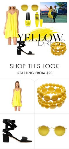 """""""Untitled #66"""" by sara-23-26 on Polyvore featuring 9seed, Ray-Ban and Maybelline"""