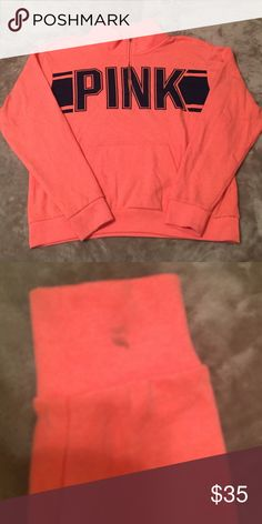 VICTORIAS SECRET QUARTER ZIP SWEATER GREAT CONDITION EXCEPT FOR A SMALL SPOT ON THE SLEEVE, FEEL FREE TO ASK ANY QUESTIONS PINK Victoria's Secret Jackets & Coats