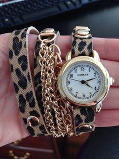 Cheetah watch brand new