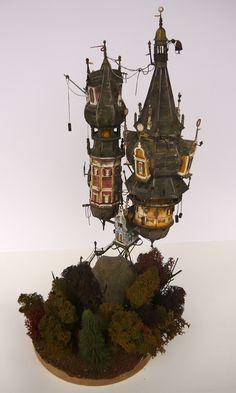 The two towers 02 by Raskolnikov0610.deviantart.com on @deviantART