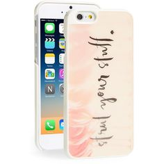 kate spade new york 'flamingo' lenticular iPhone 6 case ($24) ❤ liked on Polyvore
