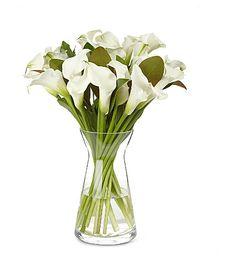 SELFRIDGES SELECTION FLOWERS White Fountain calla lily bouquet