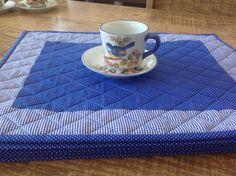 Jogo americano tecido 100% algodão ,estruturado com manta ... Lindo,charmoso ,pode ser usado dupla face....
