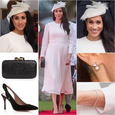 Duchess of Sussex Style; Meghan Markle Outfits, Meghan Markle Style, Prince Harry And Megan, Harry And Meghan, Kate And Meghan, Princess Meghan, Royal Dresses, Royal Engagement, Tabitha Simmons